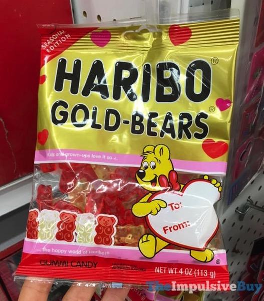 Haribo Seasonal Edition Valentine s Day Gold Bears