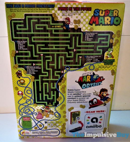 REVIEW: Kellogg's Super Mario Cereal