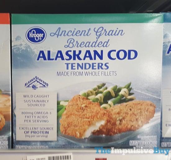 Kroger Ancient Grain Breaded Alaskan Cod Tenders jpg