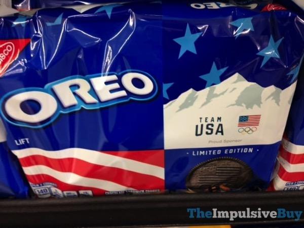 Limited Edition Team USA Oreo Cookies jpg