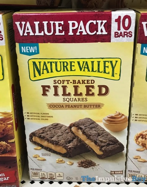 Nature Valley Cocoa Peanut Butter Soft Baked Filled Squares jpg