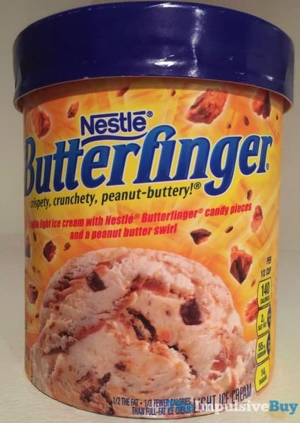 Nestle Butterfinger Light Ice Cream