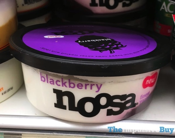 Noosa Blackberry Yoghurt