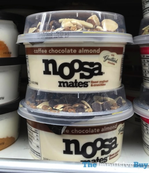 Noosa Mates Coffee Chocolate Almond Yoghurt