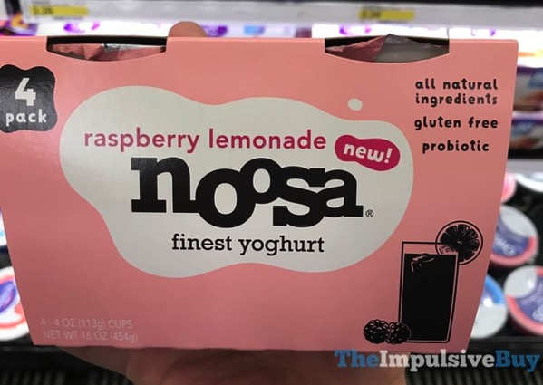 Noosa Raspberry Lemonade Yoghurt