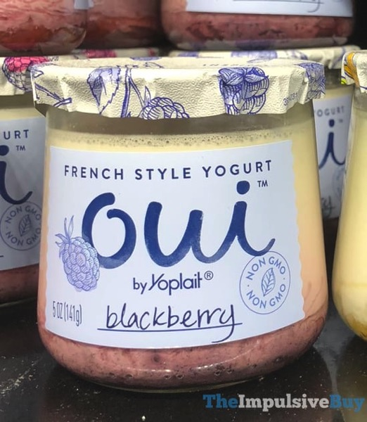 Oui by Yoplait Blackberry French Style Yogurt