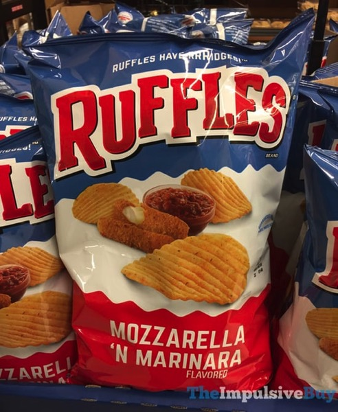 Ruffles Mozzarella  N Marinara Potato Chips