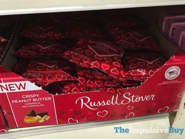 Russell Stover Crispy Peanut Butter Milk Chocolate Heart