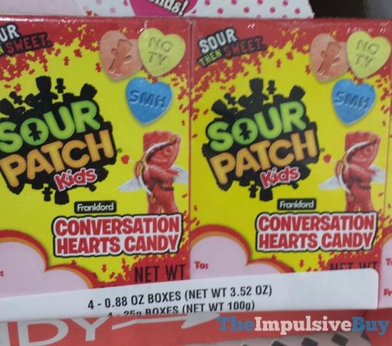 Sour Patch Kids Conversation Hearts Candy
