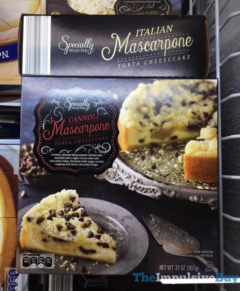 Specially Selected Italian and Cannoli Mascarpone