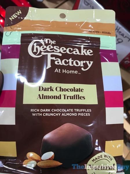 The Cheesecake Factory at Home Dark Chocolate Almond Truffles