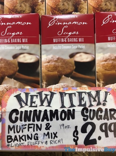 Trader Joe s Cinnamon Sugar Muffin  Baking Mix