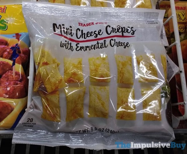 Trader Joe s Mini Cheese Crepes with Emmental Cheese