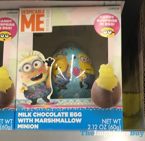 Despicable Me Milk Chocolate Egg With Marshmallow Minion