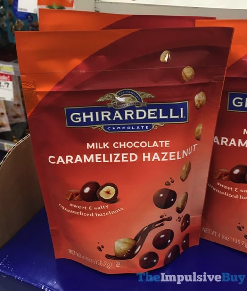 Ghirardelli Milk Chocolate Caramelized Hazelnut