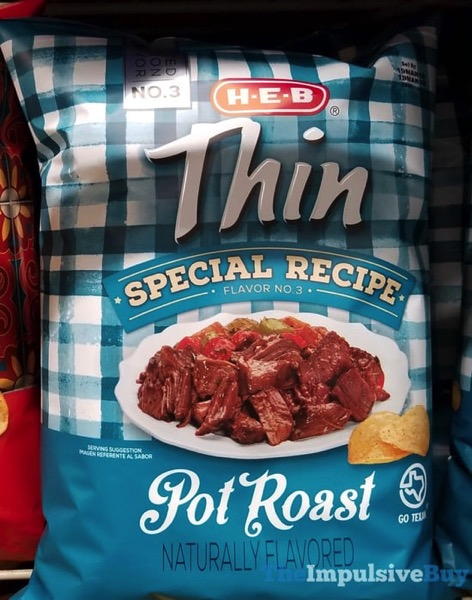 H E B Special Recipe Flavor No 3 Pot Roast Potato Chips