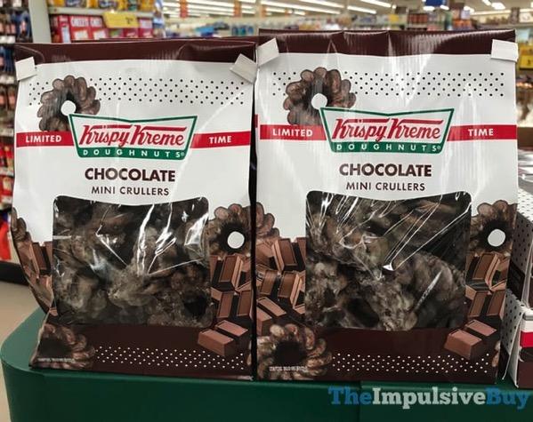 Krispy Kreme Limited Time Chocolate Mini Crullers