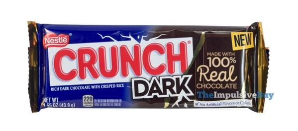 Nestle Crunch Dark Bar  2018