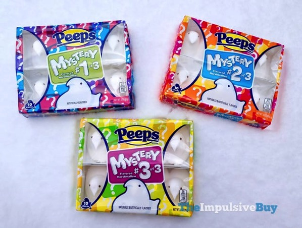 Peeps Mystery Flavors  2018