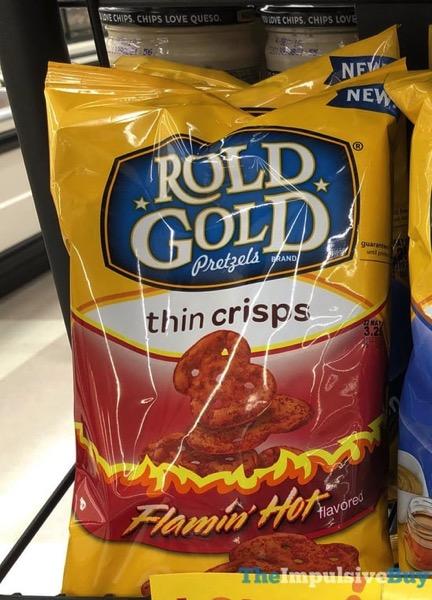 Rold Gold Pretzels Flamin Hot Thin Crisps