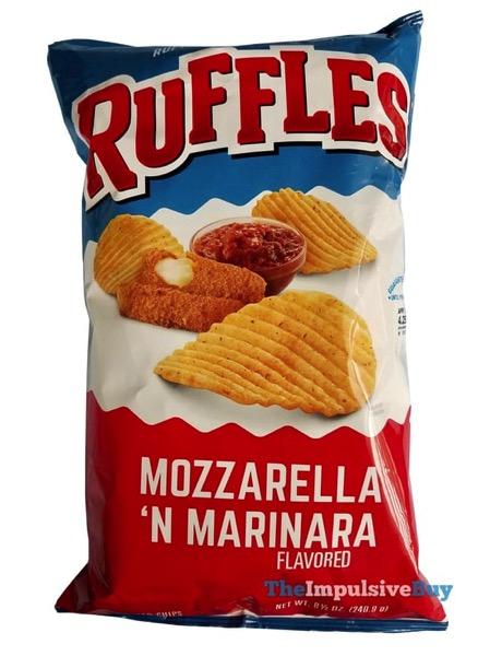 Ruffles Mozzarella  N Marinara Potato Chips