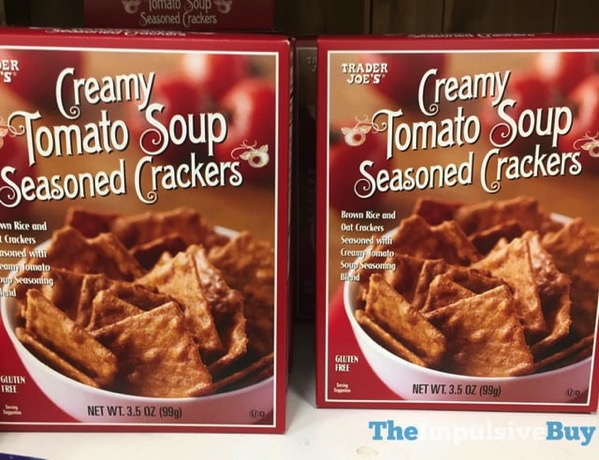 Trader Joe s Creamy Tomato Soup Seasoned Crackers