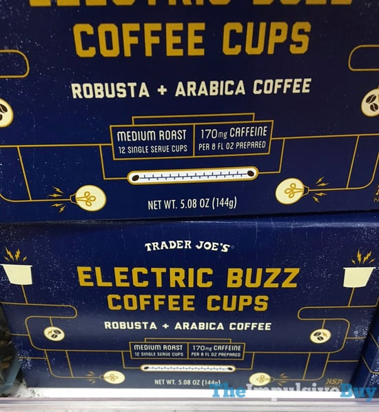 Trader Joe s Electric Buzz Coffee Cups