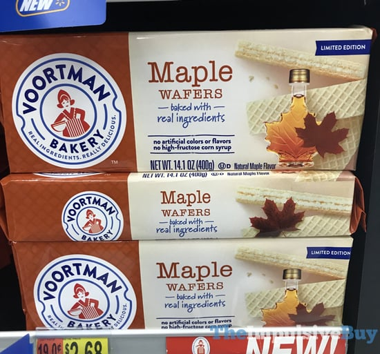 Voortman Bakery Limited Edition Maple Wafers