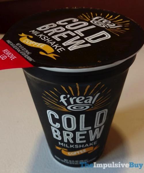 F real Cold Brew Coffee Milkshake