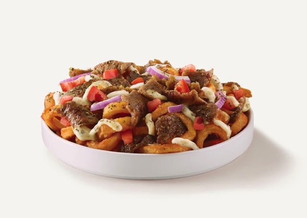 Arby s Gyro Loaded Curly Fries