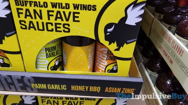 Buffalo Wild Wings Fan Fave Sauces