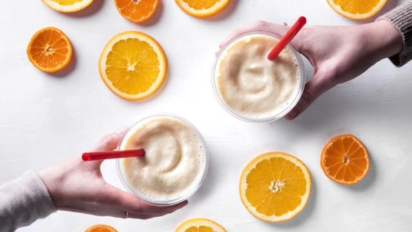 Chick fil A Frosted Sunrise