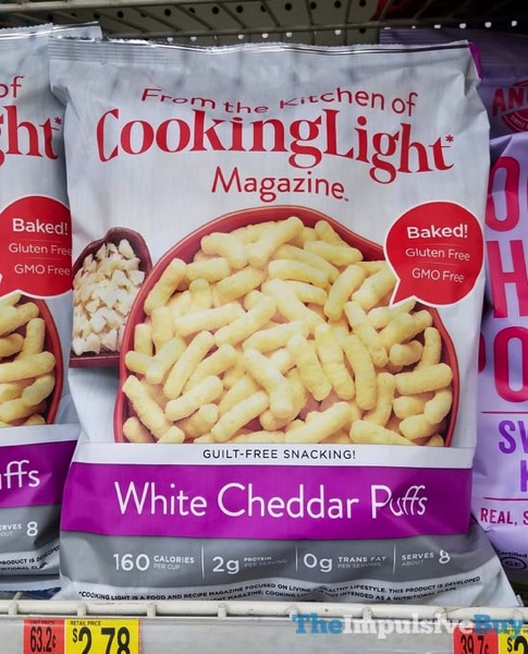 Cooking Light Magazine White Cheddar Puffs