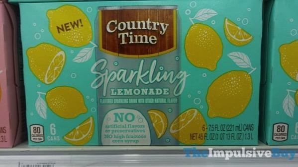 Country Time Sparkling Lemonade