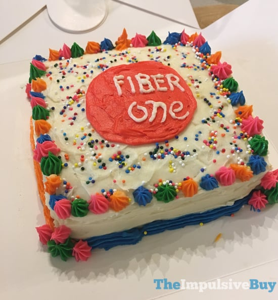 Fiber One Limited Edition Birthday Cake Baked Bar 3