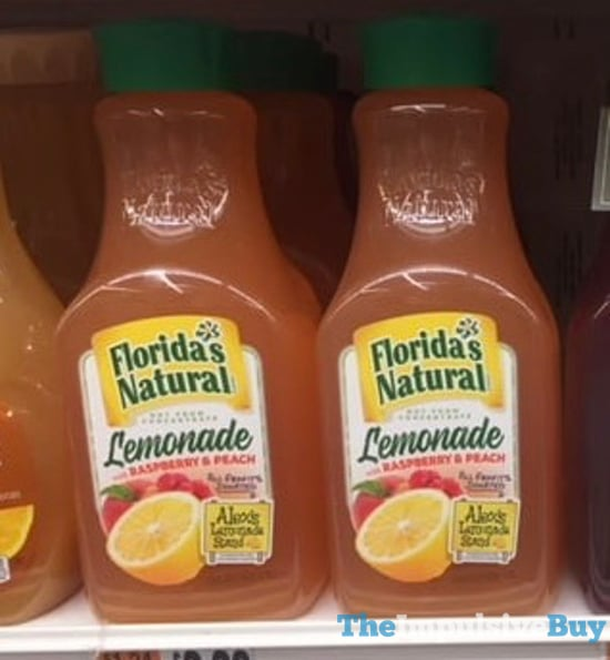 Florida s Natural Lemonade with Raspberry  Peach
