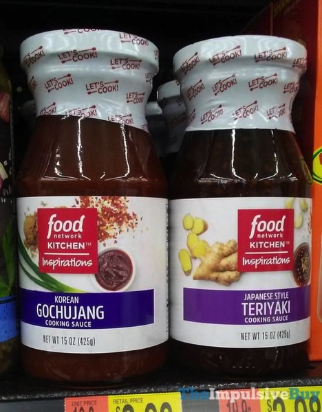 Food Network Kitchens Inspirations Korean Gochujang and Japanese Style Teriyaki Cooking Sauces