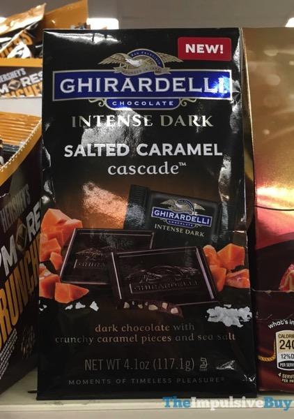 Ghirardelli Intense Dark Salted Caramel Cascade