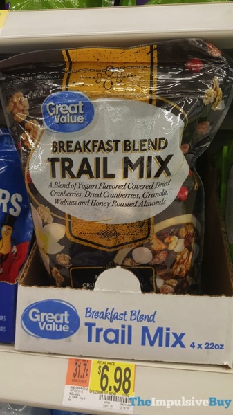 Great Value Breakfast Blend Trail Mix