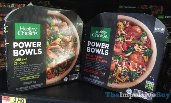 Healthy Choice Power Bowls  Shiitake Chicken and Italian Chicken Sausage  Peppers
