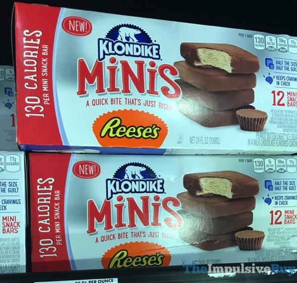 Klondike Minis Reese s Snack Bars