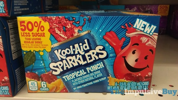 Kool Aid Sparklers Tropical Punch