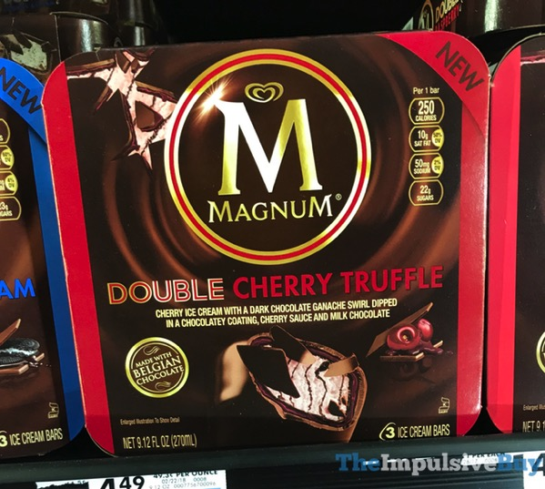 Magnum Double Cherry Truffle Ice Cream Bars