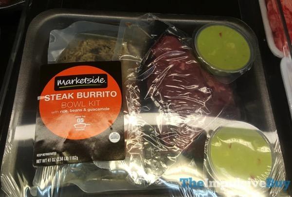 Marketside Steak Burrito Bowl Kit