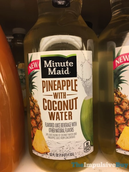 Minute Maid Pineapple with Coconut Water Juice Beverage