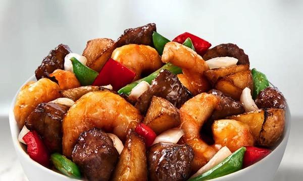 Panda Express Wok Seared Steak  Shrimp