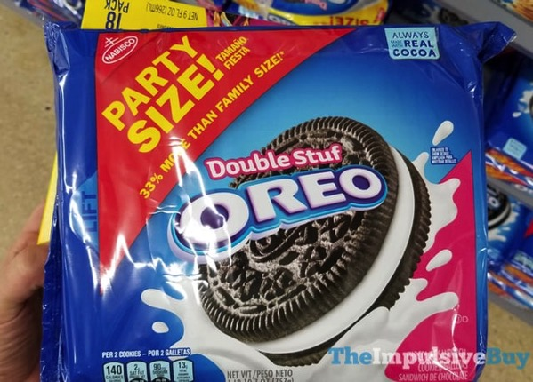 Party Size Double Stuf Oreo Cookies
