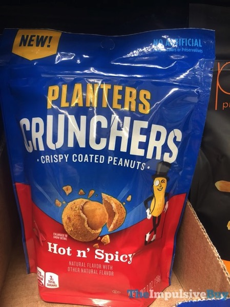Planters Crunchers Hot n Spicy Crispy Coated Peanuts