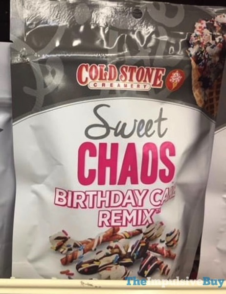 Sweet Chaos Cold Stone Creamery Birthday Cake Remix