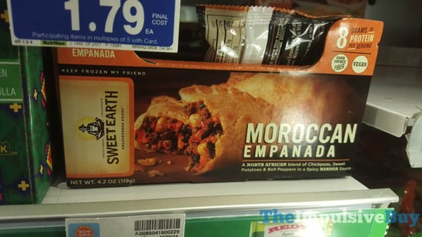 Sweet Earth Moroccan Empanada
